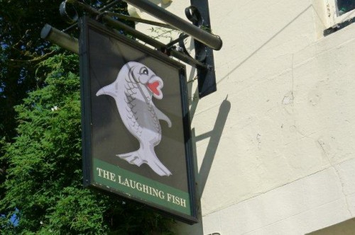 The Laughing Fish at Isfield.
