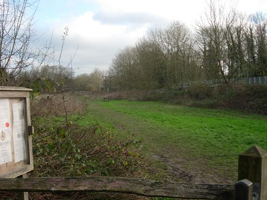 Hempstead Meadows Local Nature Reserve in Uckfield.