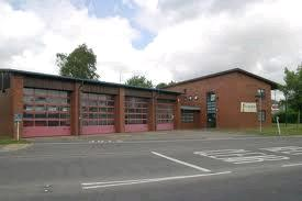 Uckfield Fire Station.