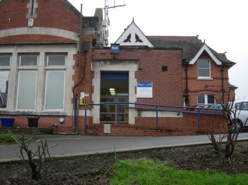 An UckfieldNews.com photograph of Uckfield police station (from our files)