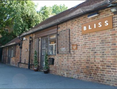 Bliss hairdressers in Olives Yard, Uckfield.