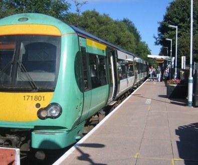 Uckfield Railway Station