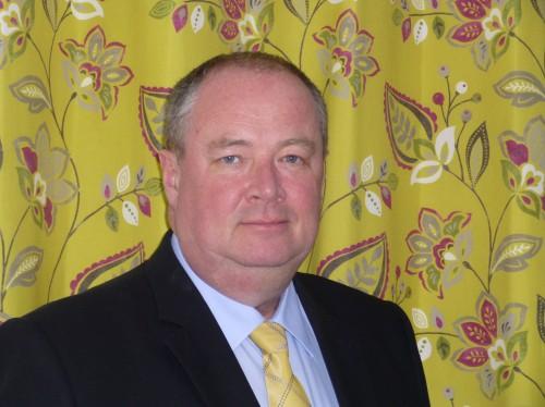 Chris Worrall, Managing Director of Crowson Fabrics, Uckfield.