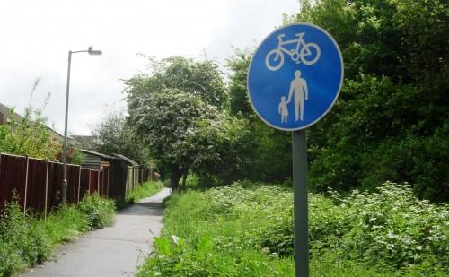 Streatfield cycle path