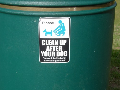 Dog sign Victoria