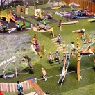 One of the designs considered for the Hempstead Road play area
