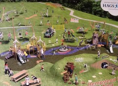 This is an illustration of ideas favoured by the public. Not every item shown will necessarily be included in the finished play area