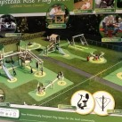 Another of the designs considered for Hempstead Road play area