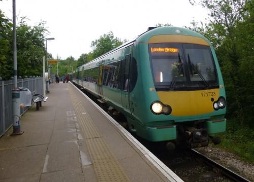 Uckfield Line train
