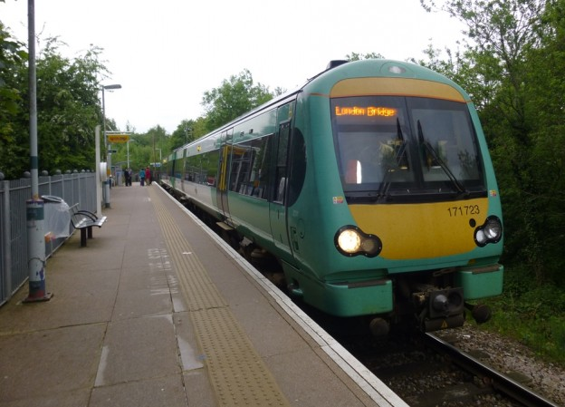 Uckfield Line train