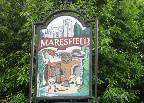 Maresfield village sign