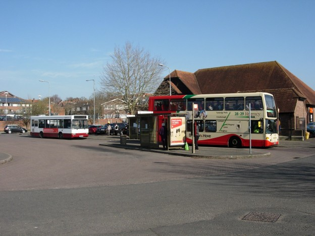 Uckfield bus station (file photograph)