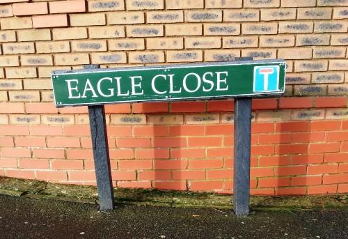 Eagle Close sign