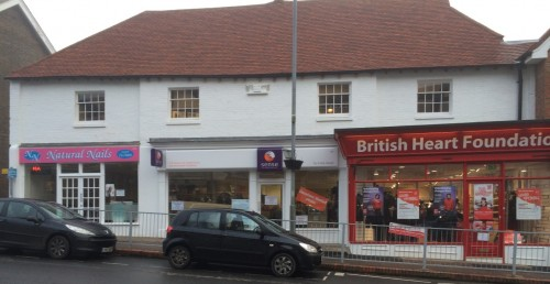 fire-damaged shops open again
