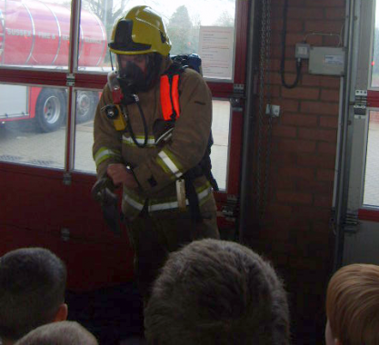 fire service school visit Rick Funnell2