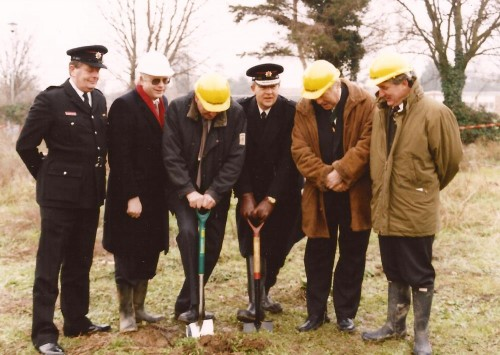 Turning the sod 1995