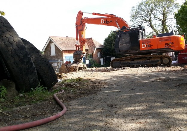 Our picture of the old Meads surgery site in Grange Road was taken after the building was demolished earlier this year.