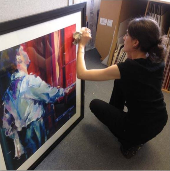 Uckfield Framing Company hopes to be on Peter Andre programme ...