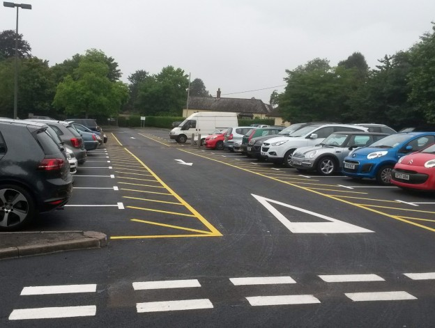 Luxford Field car park phase 1 complete crop