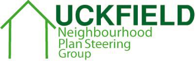 Toby Aldred's winning logo design for the Uckfield Neighbourhood Plan Steering Group.