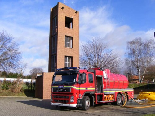 The Uckfield Fire Station water carrier.