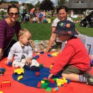 There was plenty to do at the fun day even for the youngest of children.