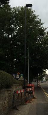 roadworks fri 26 street light