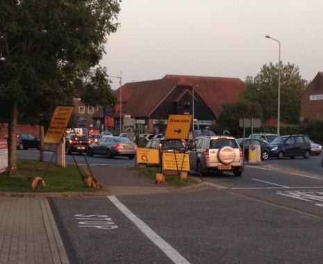 roadworks gridlock