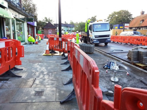 Roadworks Oct 7