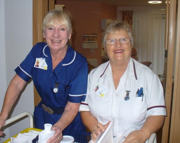 St Peter and St James Hospice nurses