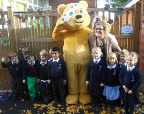 Pudsey at Bonners