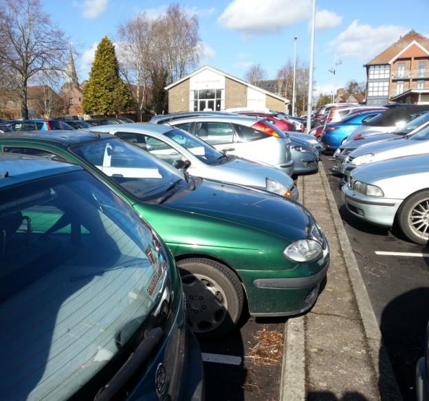 Luxford car park Feb 2015