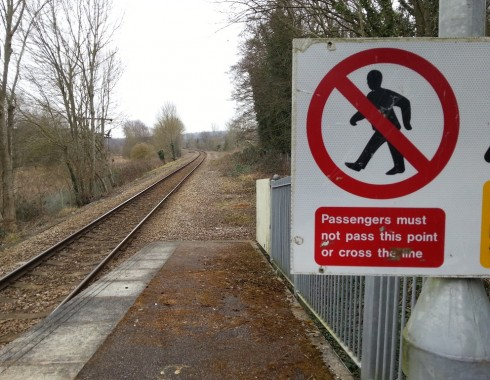The platform at Uckfield will be extended by about 48m