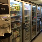 New refrigerated units in place at Ridgewood Post Office.