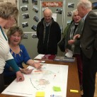 Ideas are shared at the Uckfield Neighbourhood Plan meeting.