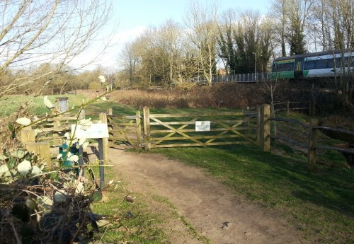 Entry to nature reserve Network Rail wishes to use