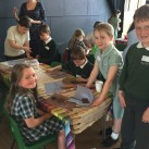 There was lots of interest in a clay workshop.