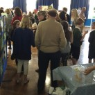 Families were invited in to see the exhibition and workshops.