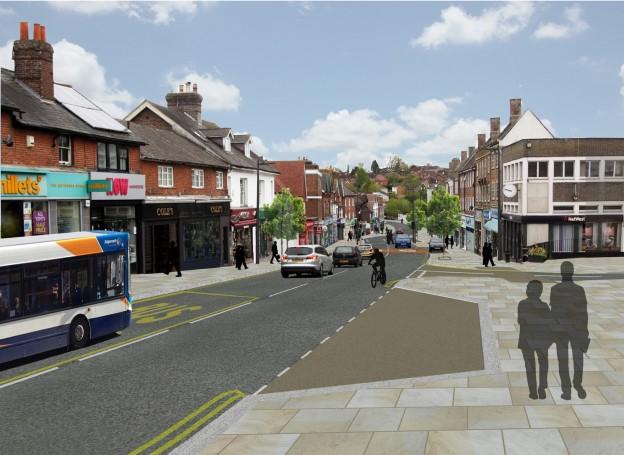 Uckfield parking revised scheme  - top