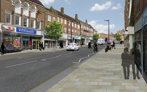 Uckfield revised scheme - bottom