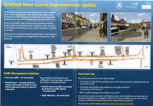 town centre improvements