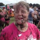 Speckled with mud Karen Varney.