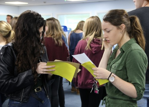 A-level results 3