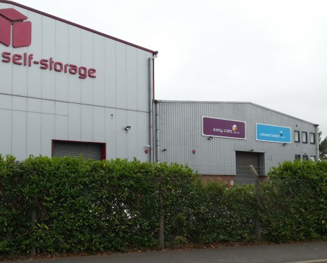 Self-storage site
