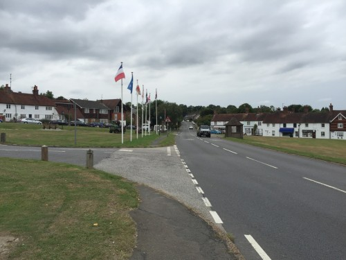 The Green, Newick, a focal point for the village