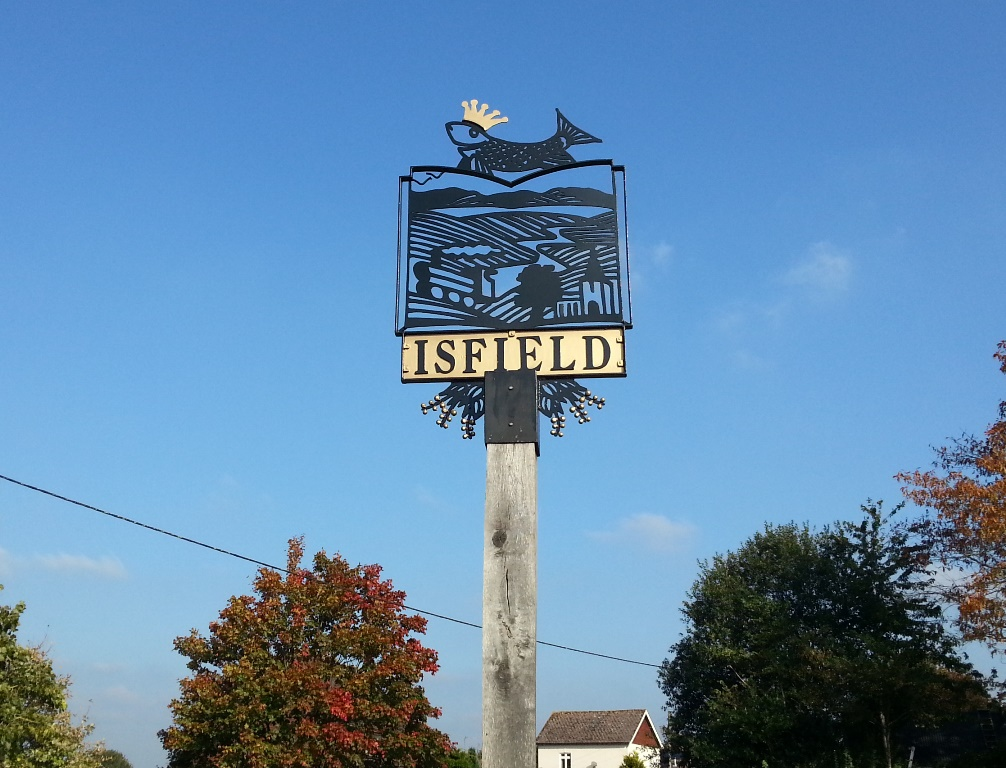 Isfield village sign