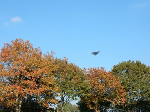 XH558 over Isfield 1a