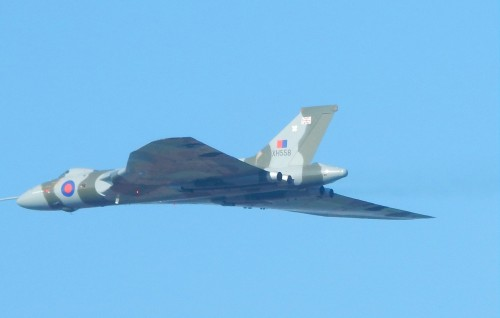 XH558 over Isfield 2a