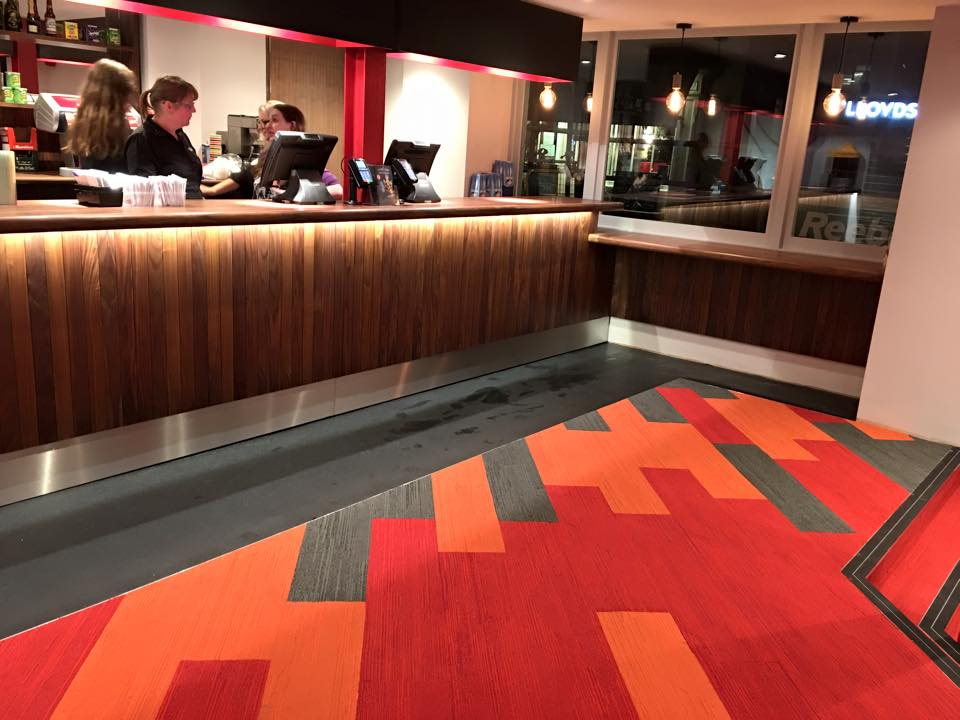Foyer Area News : Picture house foyer has the wow factor uckfield news