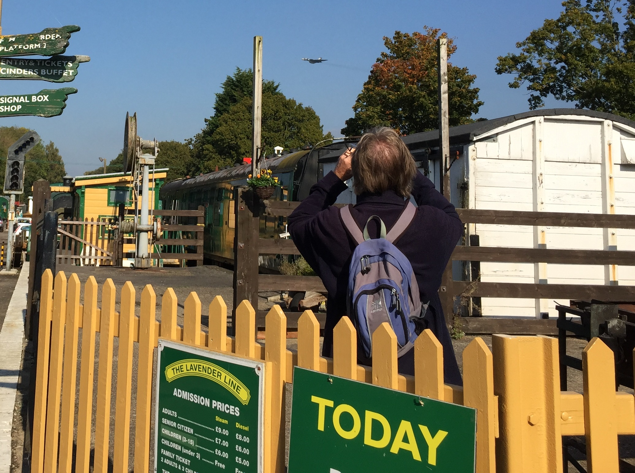 Great view of the Vulcan at the Lavender Line, Isfield | Uckfield News